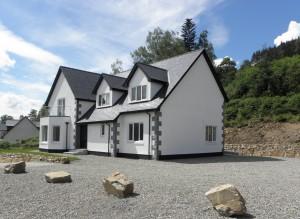 New Build, Plot 3, Gairlochy, by Spean Bridge