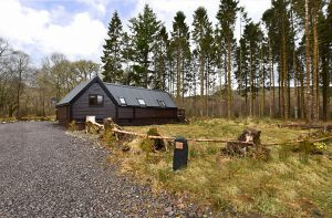 Deer Lodge, 18 Loch Aweside Forest Cabins, Dalavich, PA35 1HS